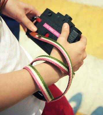 Шнурок на фотоаппарат своими руками