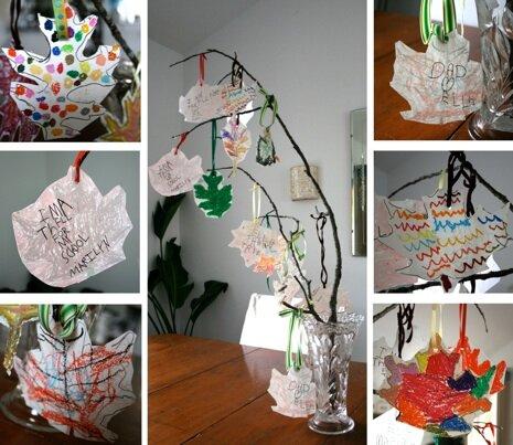 Дерево с фотографиями учеников для учителя