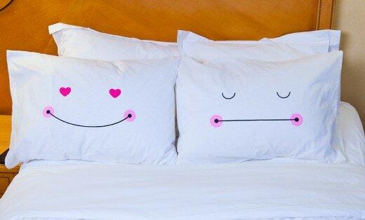 Прикольное поздравление постельное белье